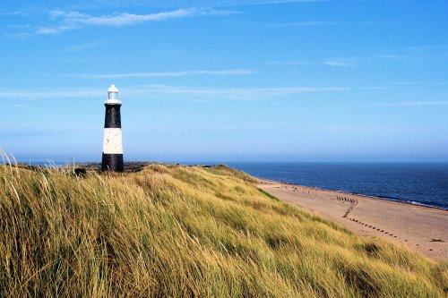 Spurn Point Beach & Lighthouse on the Yorkshire Coast