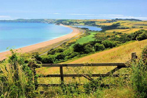 Slapton Sands and the Ley at Torcross
