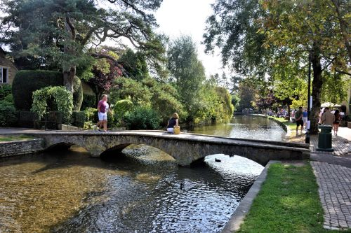 The Bridge by the Croft Restaurant in Bourton on the Water