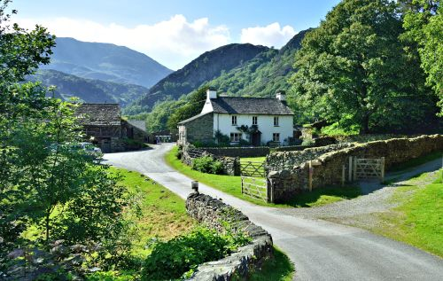 Yew Tree Farm at Coniston (Used in Beatrix Potter Movie)