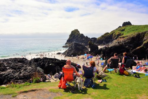 Seats with a View at Kynance Cove