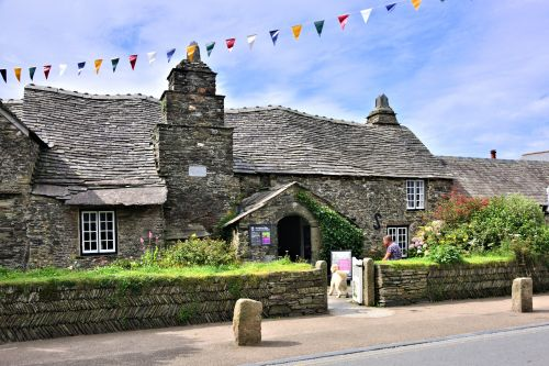 Tintagel's Medieval Old Post Office