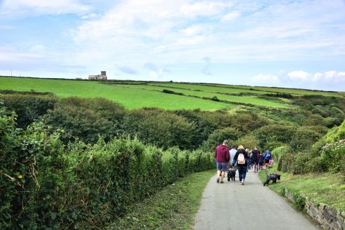To Reach Tintagel Castle Walk Down the Vale of Avalon
