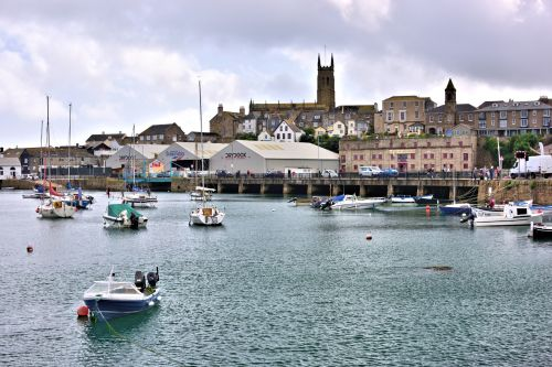 First View of Penzance Quay