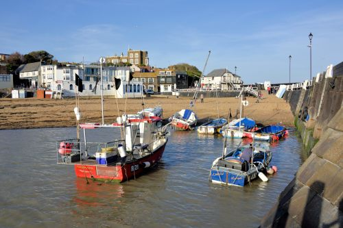 Broadstairs Harbour View to Bleak House