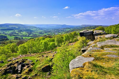 Surprise View at Hathersage Booths