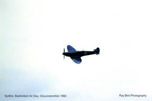 Spitfire, Badminton Air Day, Gloucestershire 1982