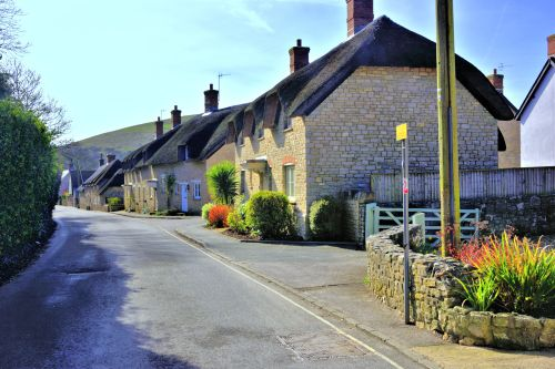 West Lulworth Lower Main Road View