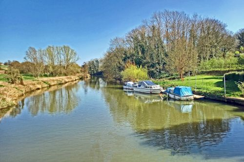 The River Medway at Barming, Maidstone