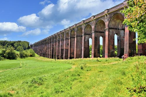 General View of the Ouse Valley Viaduct in Sussex