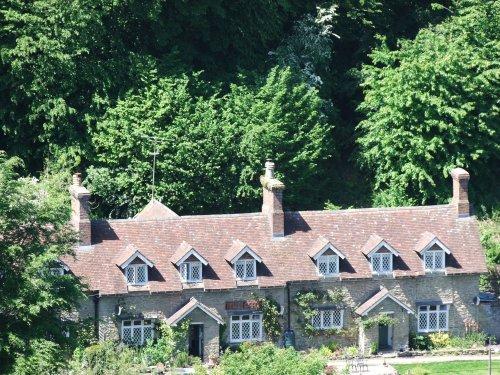 Ludlow alms houses.