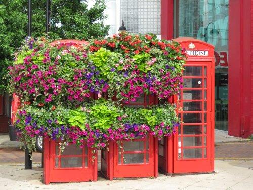 old telephone boxes in uxbridge