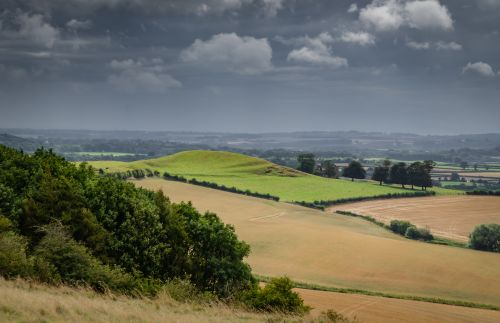 Lincolnshire wolds view