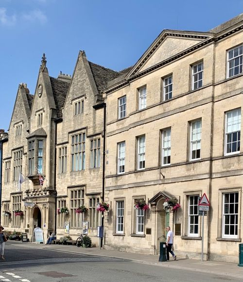 Gallery in the Main area of Cirencester.