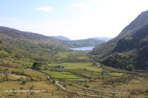 View towards Llyn Gwynant, Snowdonia