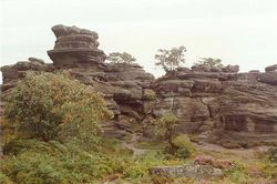 Brimham Rocks, Near Harrogate
