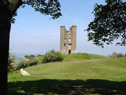 Broadway Tower, Broadway, in the Cotswolds. A must visit when seeing Broadway