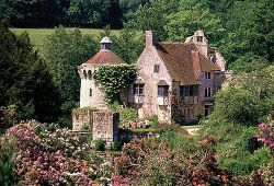 The beautiful Scotney Castle, Tunbridge Wells, Kent