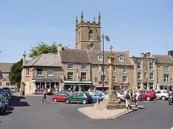 Stow-on-the-Wold, one of the most popular cotswolds towns.