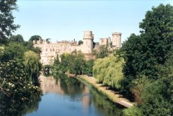 A picture of Warwick Castle