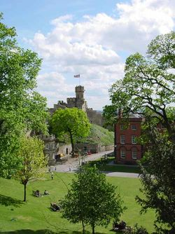 A picture of Lincoln Castle