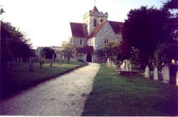 Boxgrove Priory Church, Southern Aspect, Boxgrove Nr. Chichester