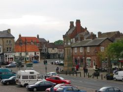 Town square, Thirsk, North Yorkshire