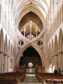 The Scissored-Arch Wells Cathedral