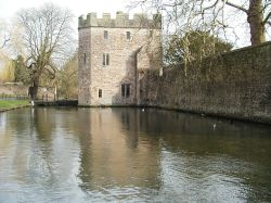 The Moat and Gate House The Bishops Palace