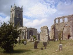 Church and churchyard, Walberswick, Suffolk