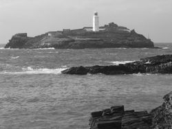 Godrevy Lighthouse, Cornwall. Taken 2004