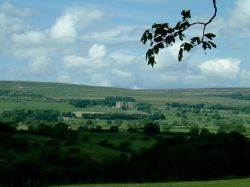 View of Castle Bolton, Yorkshire