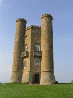 Broadway Tower, from the Cotswold Way