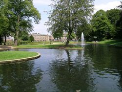 The Pavilion Gardens, Buxton, Derbyshire. 23 July 04