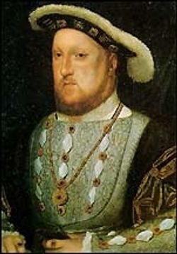 A picture of King Henry VIII