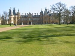 A picture of Waddesdon Manor