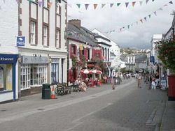 The Main Street of Wadebridge