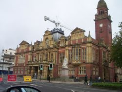 Town Hall, Royal Leamington Spa, Warwickshire