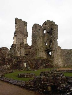 The Keep, Coity Castle. Wales