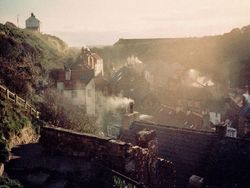 Smoky Staithes - scanned image from early 90's