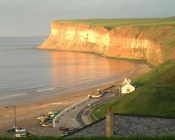 Evening in Saltburn-by-the-Sea
