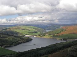 Ladybower Reservoir, Derbyshire. October 2004