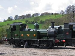 Cheddleton, Staffordshire: Churnet Valley Railway sidings