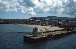 Isle of Man - Peel, Harbour Mouth and Beach