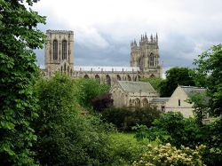 York Cathedral from city walls