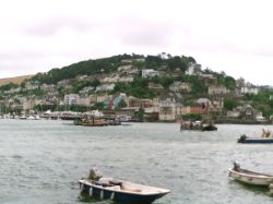 Dartmouth Harbour. Dartmouth, Devon. Summer 2003