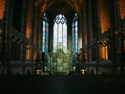 Liverpool Anglican Cathedral Wallpaper