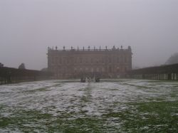 Chatsworth House & Gardens in winter