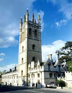 Magdalen Tower, Oxford.