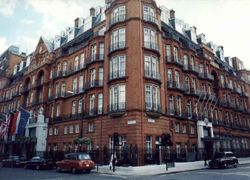Claridges - Hotel for visitng royalty, magnates and entertainment celebrities.